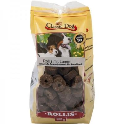 Classic Dog Snack Rollis with Lamb Αρνί 500 g