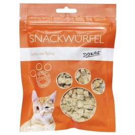 Cat Treats Dice salmon with spinach Dokas 4250253633050