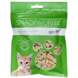 Cat Treats cube chicken breast with pumpkin Dokas 4250253630103