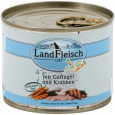 Cat Gourmet Pot Poultry & Crab meat with fresh vegetables in Can från Landfleisch 195 g