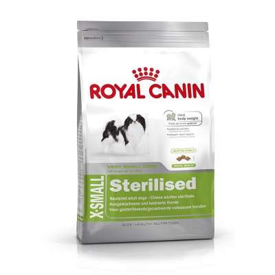 Royal Canin Size Health Nutrition X-Small Sterilised  1.5 kg, 500 g