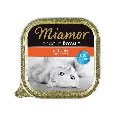 Miamor Ragú Royale Crema Pato en Crema de Hierbas 100 g