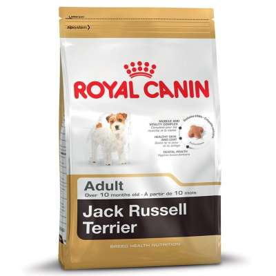 Royal Canin Breed Health Nutrition Jack Russell Terrier Adult  7.5 kg, 500 g, 3 kg, 1.5 kg