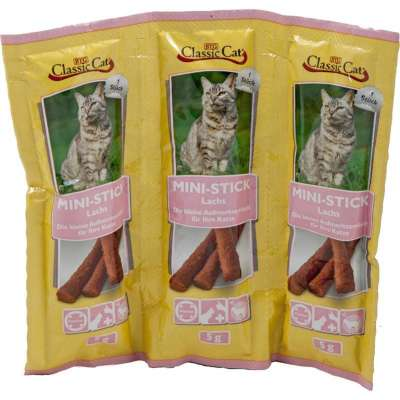 Classic Cat Snacks Sticks with Salmon Lax 24x3x5 g