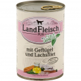 Pur Poultry & Salmon fillet with fresh Vegetables Can από τη Landfleisch 400 g