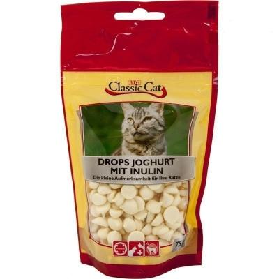 Classic Cat Snack Drops Yogourt mit Inulin 12x75 g