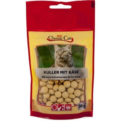 Classic Cat Snack Kuller mit Käse Käse 12x50 g
