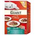 Purina Gourmet Mon Petit Duetti Fleisch & Fisch 6x50 g