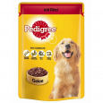 Pedigree Pouches Beef in jelly 100 g Billig