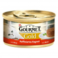 Purina Gourmet Gold Geraffineerde Ragout met Rund 85 g