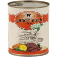 Landfleisch Dog Pur Beef & Rice extra lean with fresh Vegetables in Can 800 g