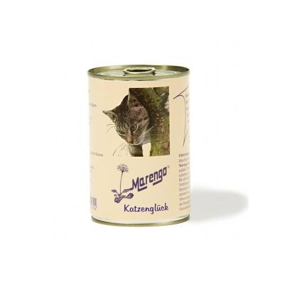 Marengo Katzen Feuchtnahrung in Dose Katzenglück 400 g, 200 g