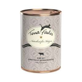 Terra Faelis Can Beef with Carrot and Watercress  200 g