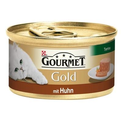 Purina Gourmet Gold - Terrine mit Huhn 85 g