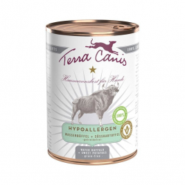 Terra Canis Hypoallergenic Menu, Water Buffalo with Sweet Potatoes  12x400 g