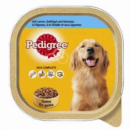 Lamb, Poultry and Vegetables in Jelly Pedigree 3065890117280