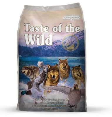 Taste of the Wild Wetlands Canine  2.27 kg, 13.60 kg