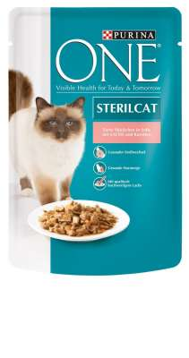 Purina ONE Steril Cat - lohi & porkkana 85 g