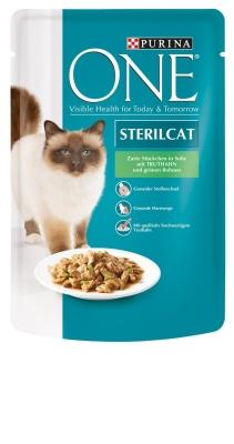 Purina Sterilcat met Kalkoen en Sperciebonen 85 g