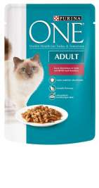 Purina ONE Adult - nauta & porkkana  85 g