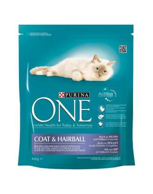 Purina One Coat & Hairball Reich an Huhn 1.5 kg