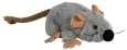 Trixie Rato de Pelúcia Cinzento