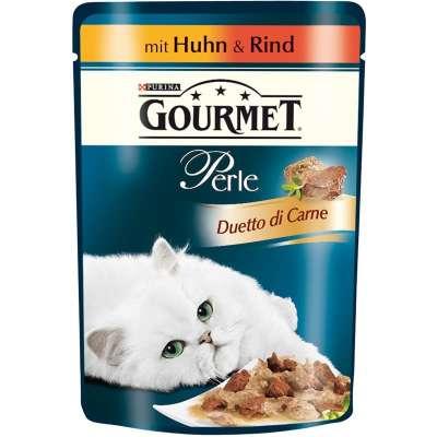 Purina Gourmet Perle Duetto di Carne con Pollo e Manzo 85 g