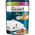 Purina Gourmet Perle - Duetto di Carne with Veal and Duck 85 g billigt
