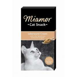 Miamor Cat Confect Liver sausage cream  6x15 g
