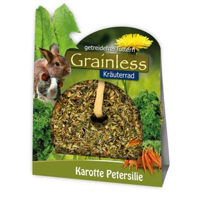 JR Farm Grainless Ruota di Erbe con Carota e Prezzemolo  140 g