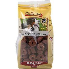 Snack Rollis with Salmon Classic Dog 4260104075083