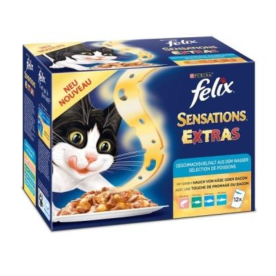 Felix Sensations Extras Fish Selection 12x100 g