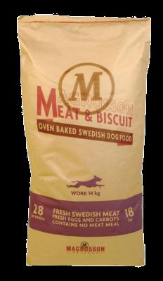 Magnusson Work Meat & Biscuit  4.50 kg, 14 kg