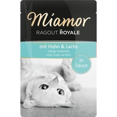 Miamor Ragout Royale mit Huhn & Lachs 100 g