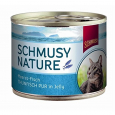 Nature Pesce dell'Atlantico Tonno puro in Jelly Lattina Schmusy 185 g
