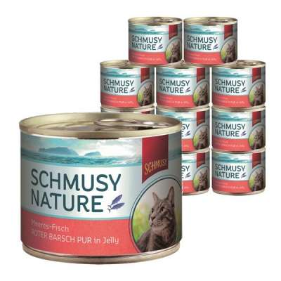 Schmusy Meeres-Fisch Roter Barsch Pur in Jelly 185 g