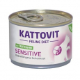 Kattovit Feline Diet Dose - Sensitive Truthahn 175 g