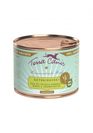 Grain-Free Menu, Veal with Parsley Root, Mango & Currant Terra Canis 4260109622350