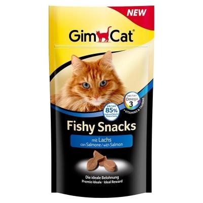 GimCat Fishy Snacks com Salmão 35 g