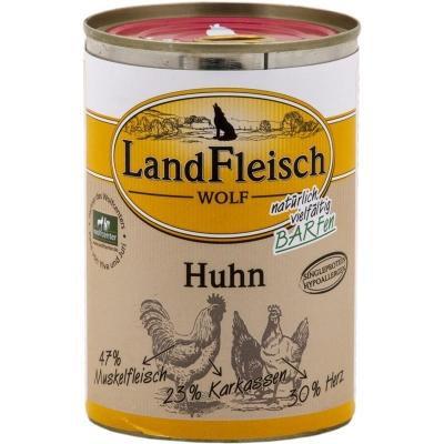Landfleisch Wolf Sensitive 100% Poulet  400 g