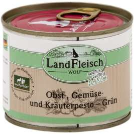 Wolf Fruit, Vegetable & Herbs pesto Green Can Landfleisch 4003537005124