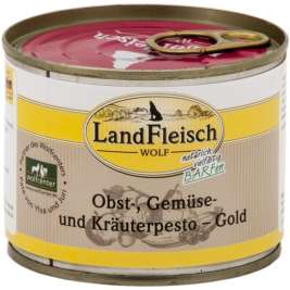 Wolf Fruit, Vegetable & Herbs pesto Gold Can Landfleisch 4003537005100