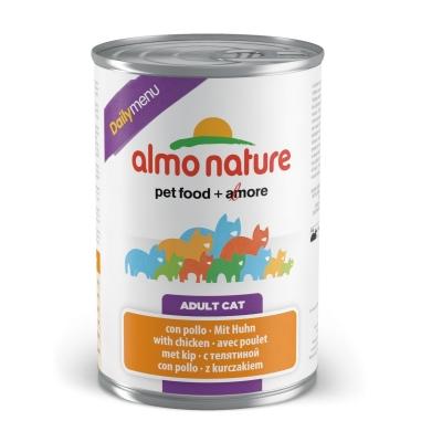 Almo Nature DailyMenu Adult Cat mit Huhn 400 g