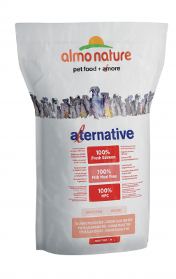 Almo Nature Alternative Medium + Large - Tuore Lohi ja Riisi  3.75 kg, 9.5 kg