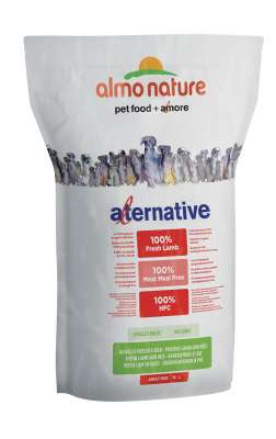 Almo Nature Alternative Medium + Large - Tuoretta Lammasta ja Riisiä  3.75 kg, 9.5 kg