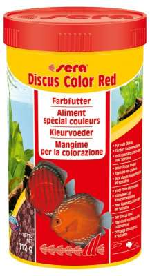 Sera Discus Color Red  45 g, 112 g
