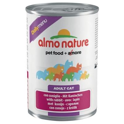 Almo Nature DailyMenu Adult Cat mit Kaninchen 400 g