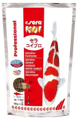 Sera Koi Professional Spirulina Farbfutter 500 g