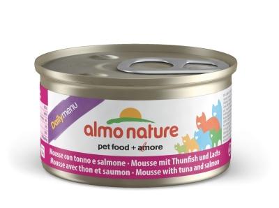Almo Nature DailyMenu Mousse mit Thunfisch und Lachs 85 g