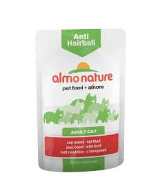 Anti-Hairball mit Rind Almo Nature  8001154125887
